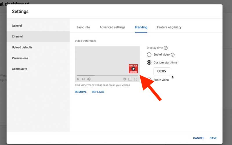 Add A Custom YouTube Subscribe Button